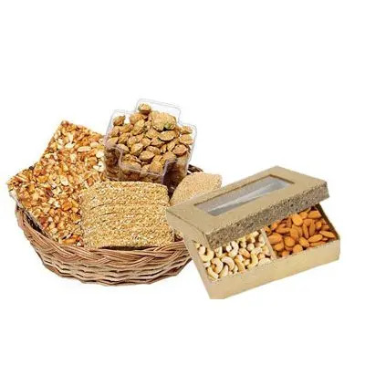 Special Lohri Sweets with Mix Dry Fruits