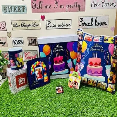 Anniversary Personalized Gift Combo