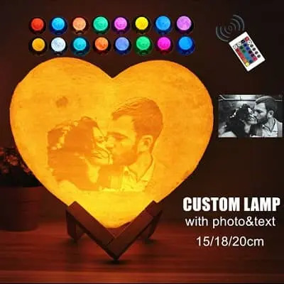 Personalized Lamp Chargeable