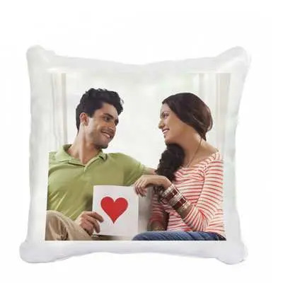 Happy Valentines Day Personalized Cushion