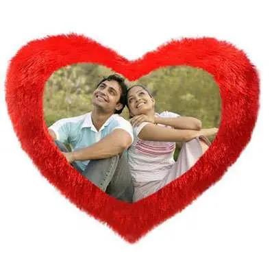 Heart Shape Valentine Cushion