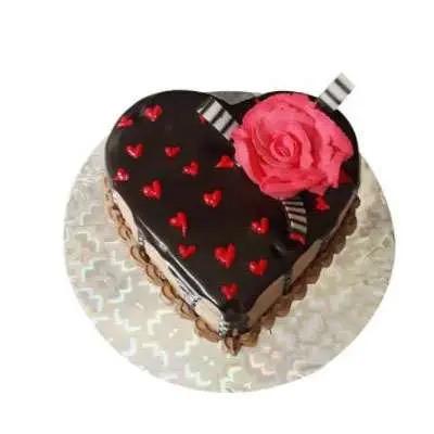 Valentines Special Chocolate Truffle Cake