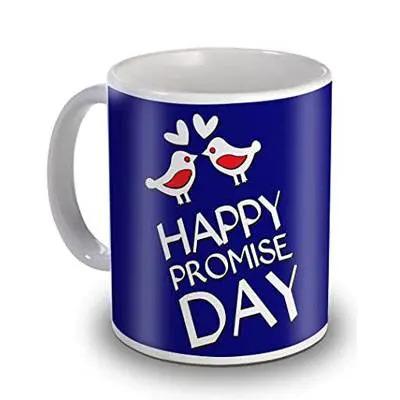 Happy Promise Day Sky Trends Mug