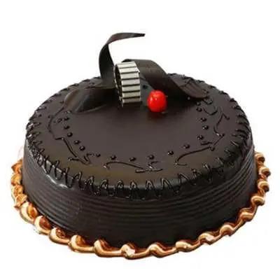 Appetising Chocolate Truffle Cake