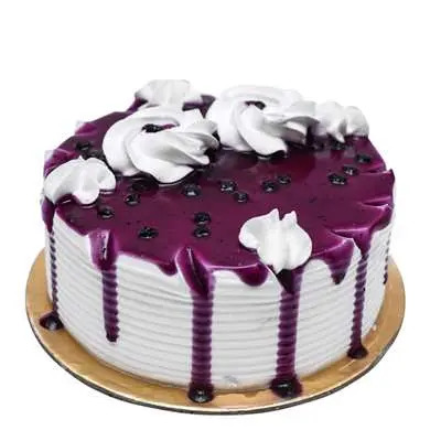 Vanilla Blueberry Cake