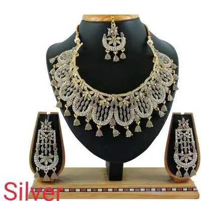 Silver Diva Beautiful Jewellery Sets