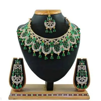Green Diva Beautiful Jewellery Sets