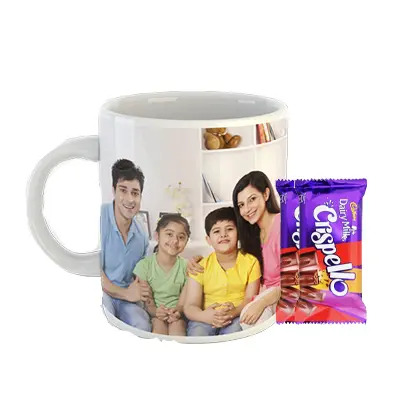 Photo Mug with Cadbury Crispello