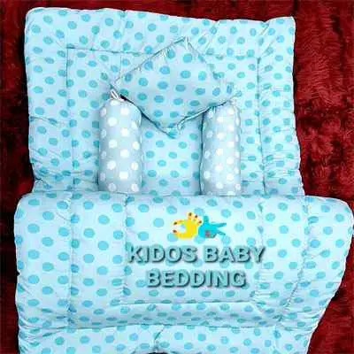 Sky Blue Kids Baby Bedding