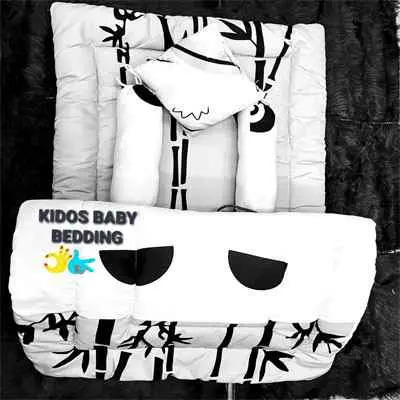 White Kiddos Baby Bedding
