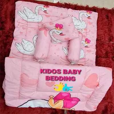Kids Bedding Set Pink