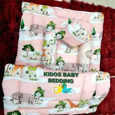 Baby Pink Kids Bedding