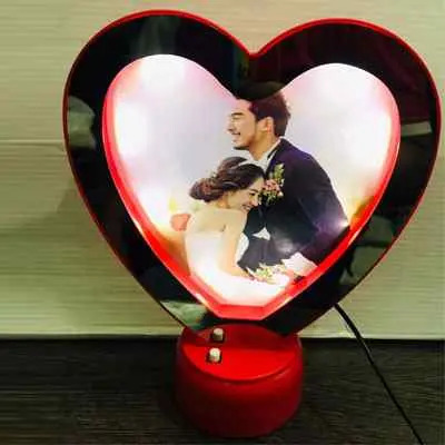 Personalised Heart Shape Magic Mirror