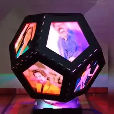 Stylish Personalized Rotating Lamp