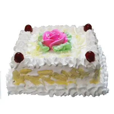 White Forest Cake Square