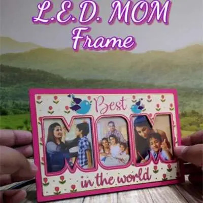 Mother Day Especial Led Frame