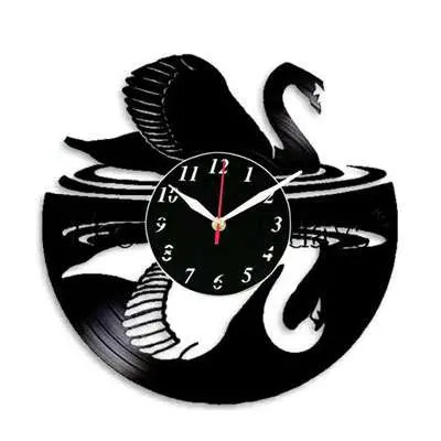 Swan Fancy Wall Clocks