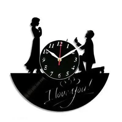 I Love You Fancy Wall Clocks
