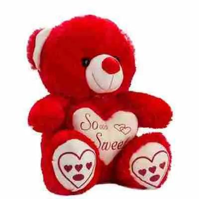 So Sweet Red Teddy Bear