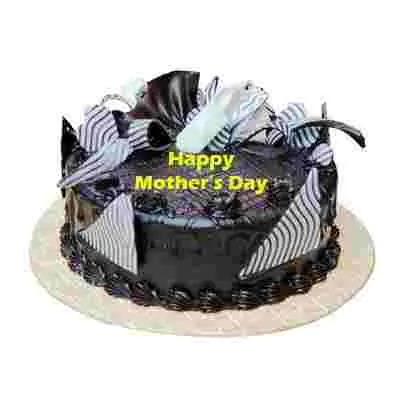 Mothers Day Chocolate Cream Cake