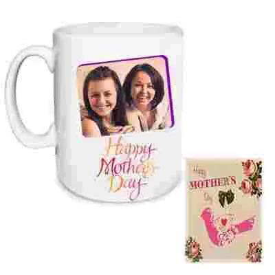 Personalized Mom Photo Mug & Greeting Card