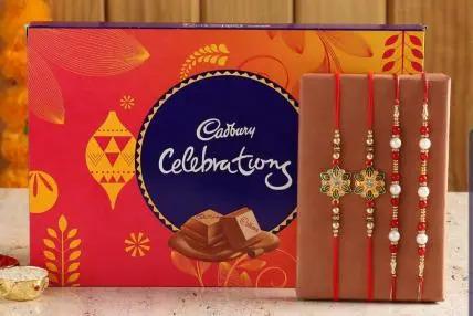 4 designer rakhis and celebration