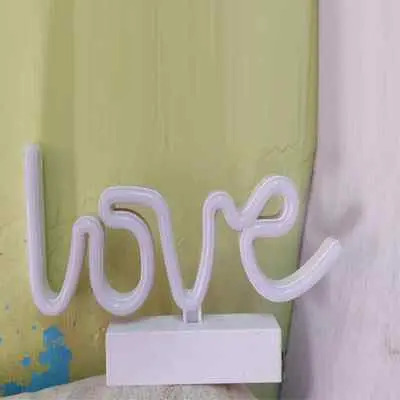 Lighting Love Photo Frame