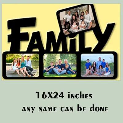 MDF Wooden Photo Frame Gift For Family