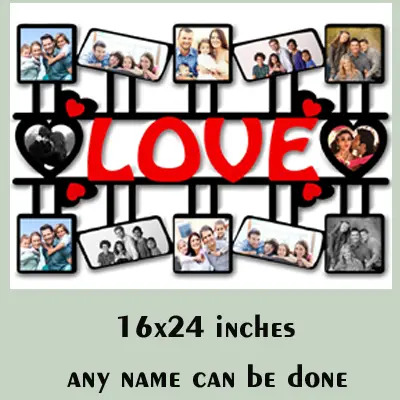 MDF Wooden Personalized Gift for Love