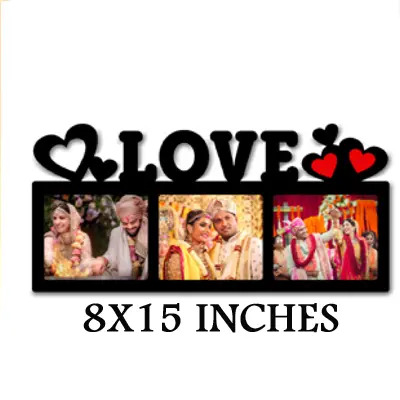 LOVE  PHOTO FRAME WOODEN