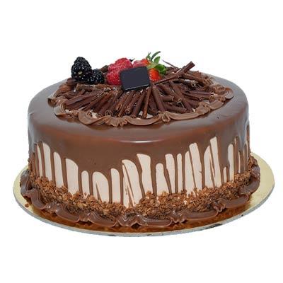 Egg Less Rich Chocolate Cake