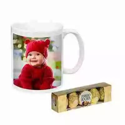 Photo Mug with Ferrero Rocher
