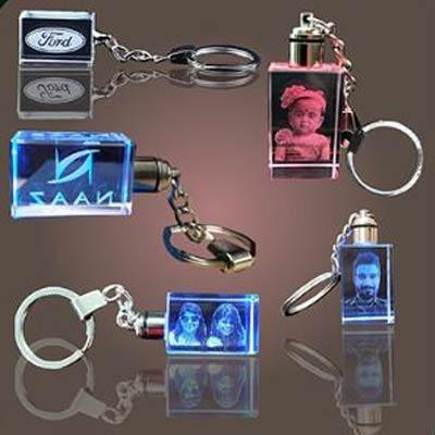 Crystal Key Chain Photo
